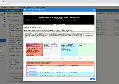 Health-Record-Document